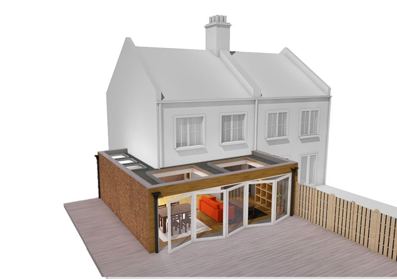 Image result for single storey wrap around extension   House plans ...