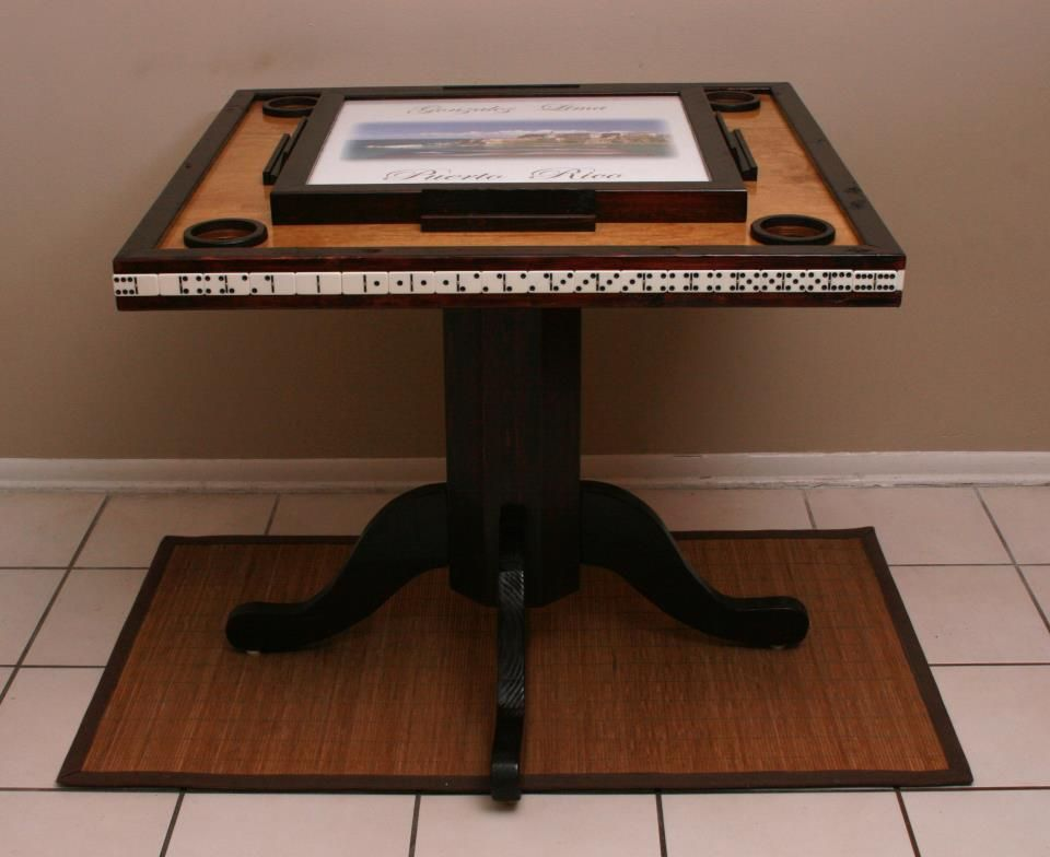 Custom Table Awesome Dominos For Ever Pinterest