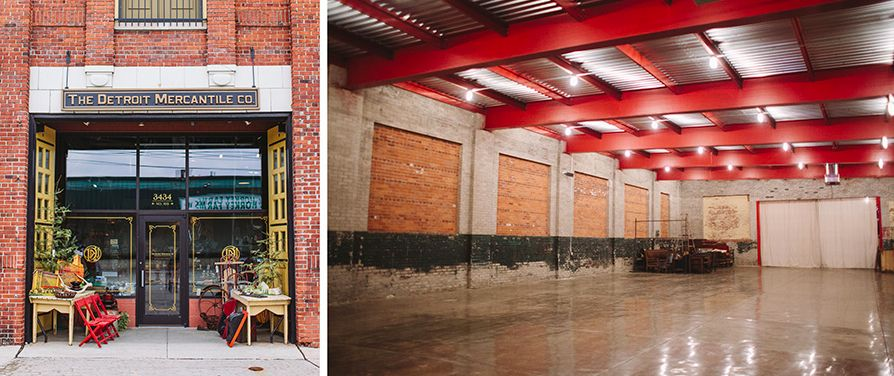 Detroit Mercantile Our Wedding Venue Eared In A Recent Article From Curbed