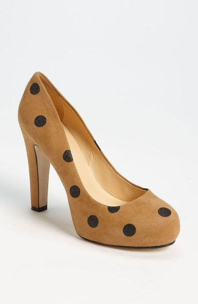 8b16935c6a Kate Spade Loire Pump in Brown (camel/ black suede) - Lyst {I'm in love  with these shoes! In every colour-way.}