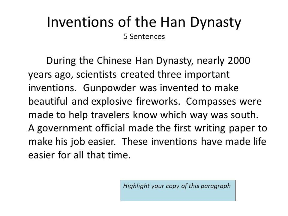 How To Write A Paper On An Invention - Opinion of experts Essay