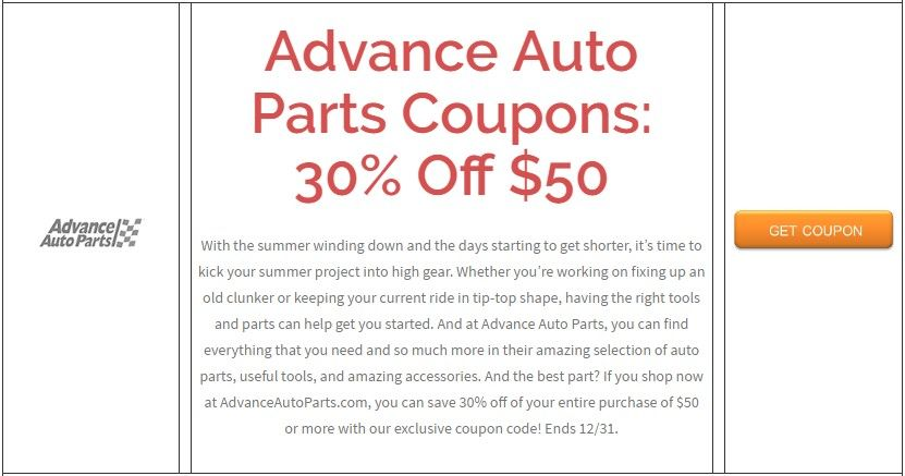 Advance Auto In Store Coupons >> Pin By Imin Coupons On Weekly Coupons Weekly Coupons Hayneedle