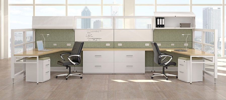 desking products friant office furniture office cubicle cubicle rh pinterest com