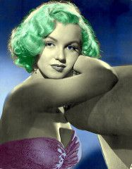 "Marilyn Monroe ""The Last Sitting colorized - Buscar con Google"
