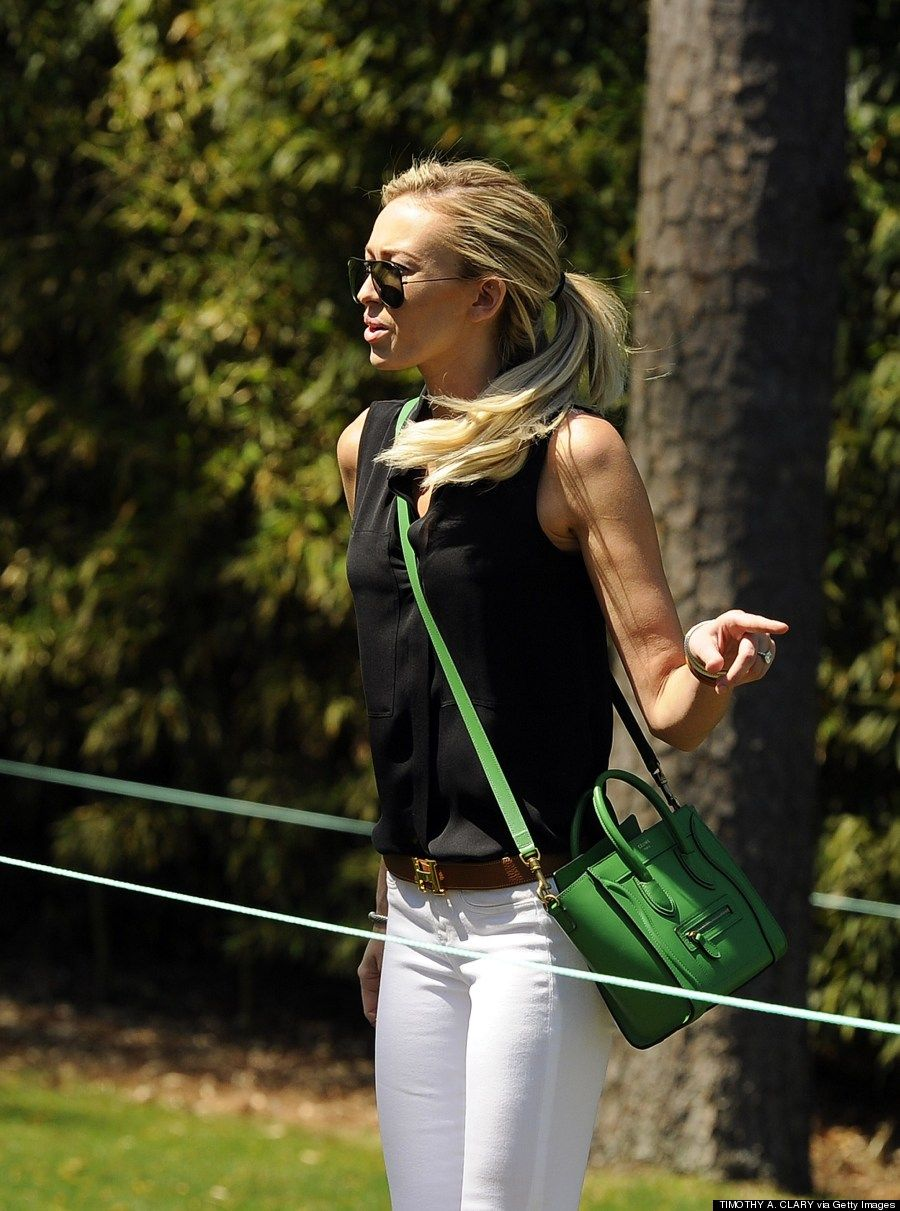 Paulina Gretzky Flaunts Svelte Figure At Masters After ...
