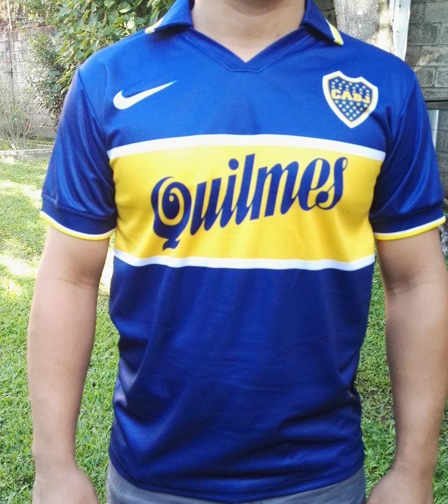 49aab7f3a013e promo code for ca boca juniors mens retro soccer jersey . 97868 d589b