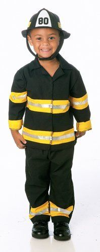 Paper Magic Group Junior Fireman-1 Boy's Costume, 3T/4T Paper Magic. $23.88