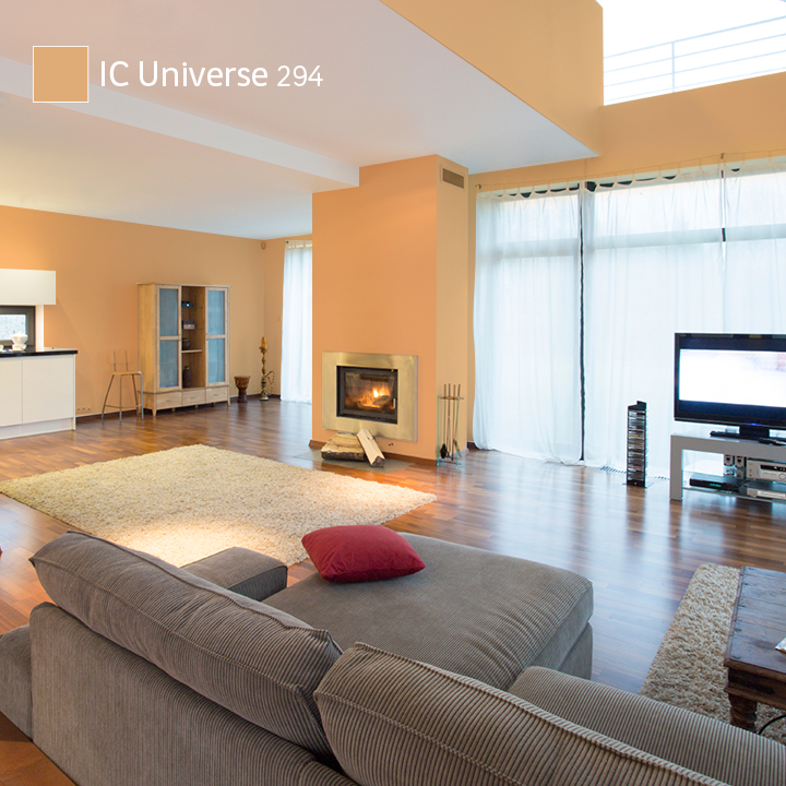 Universe es la tendencia comex 2015 que contrasta con un - Catalogos de pinturas para casas ...