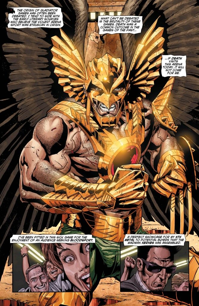 Exclusive Preview: 'Savage Hawkman' #10