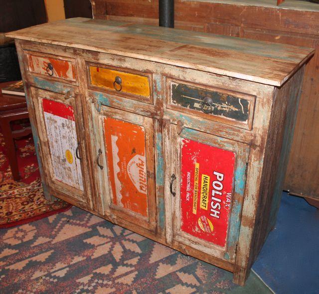 Meubles Bois Recyclé Meuble Indien en Bois Recyclé Decoration - location appartement meuble toulouse