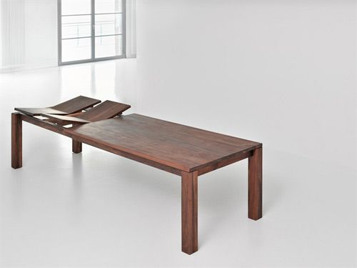 Classic Extending Dining Table From Solid Wood With Images