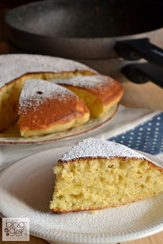 Photo of Torta in padella yogurt e mele