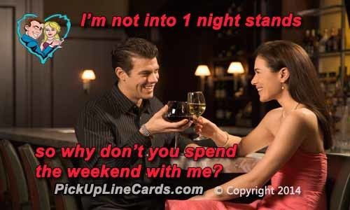 One Night Stand Pick Up Lines