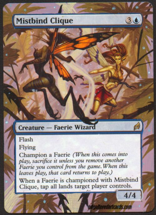 faerie wizard mistbind clique altered art http ebay to 1sv07y9