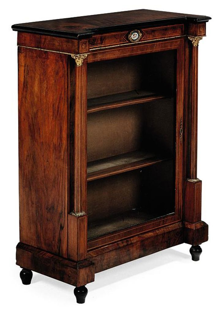 A Late Victorian Walnut And Line Inlaid Pier Cabinet Late 19th Century How To Antique Wood Art Furniture Victorian Furniture