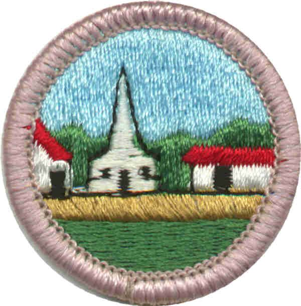 Working On The Citizenship In The Community Merit Badge