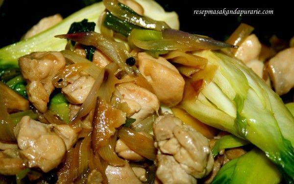 Resep Ayam Masak Jamur Shiitake Resep Masakan Masakan Asia Makan Malam