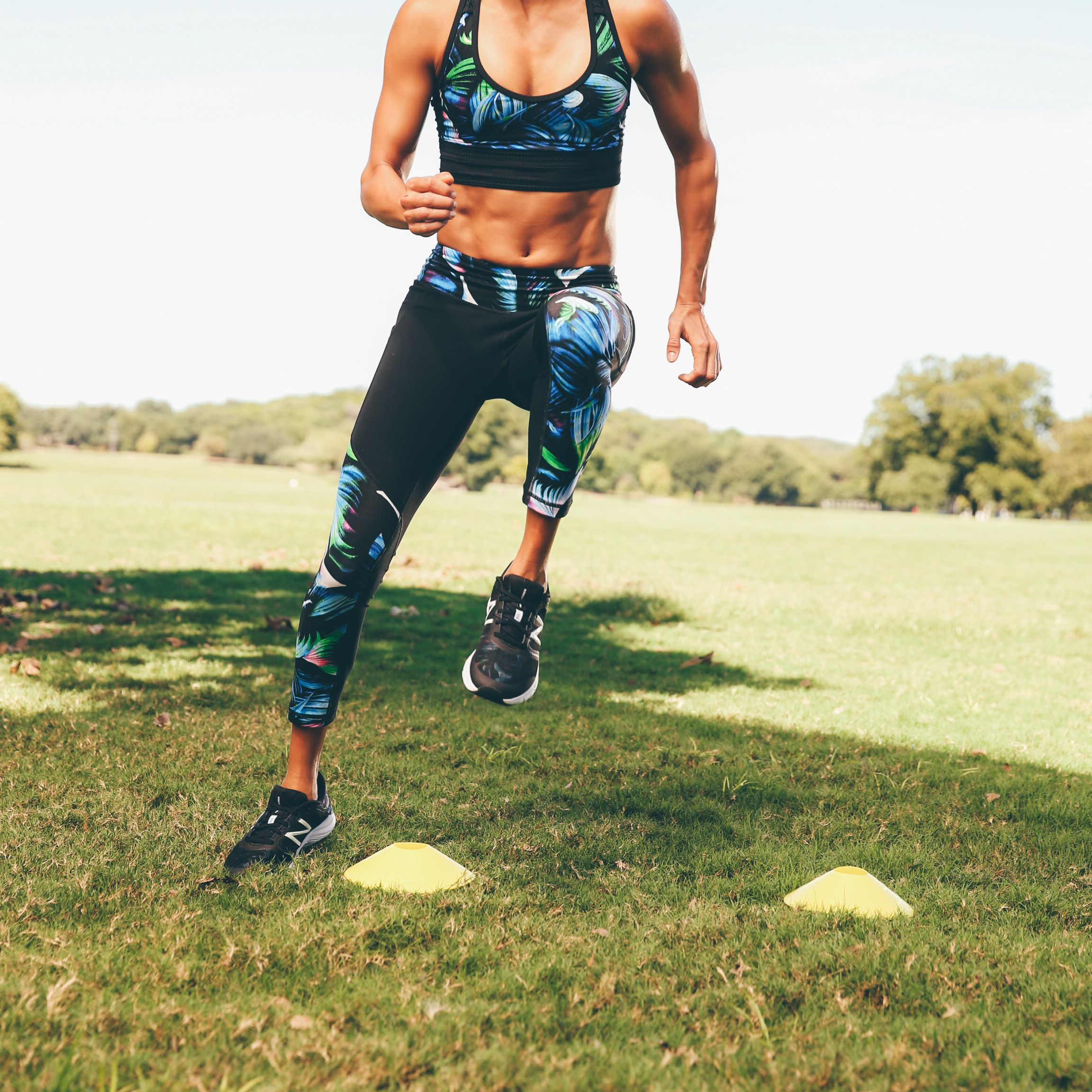 Need a new outfit for your fitness goals? Check out the array of outfits that will complement your work out regimen. Tights, sports bra, sneakers- All of the latest styles for you.