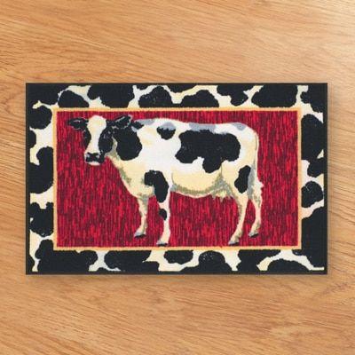 Cow Cushion Kitchen Floor Mat Rugs Accent Rugs Kitchen Mats Floor