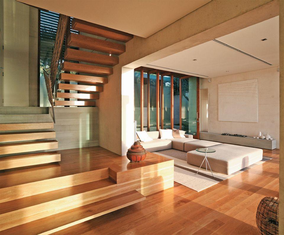 Casa Na Austrália Com Vista Deslumbrante Para O Pacífico. Staircase  IdeasHome ...