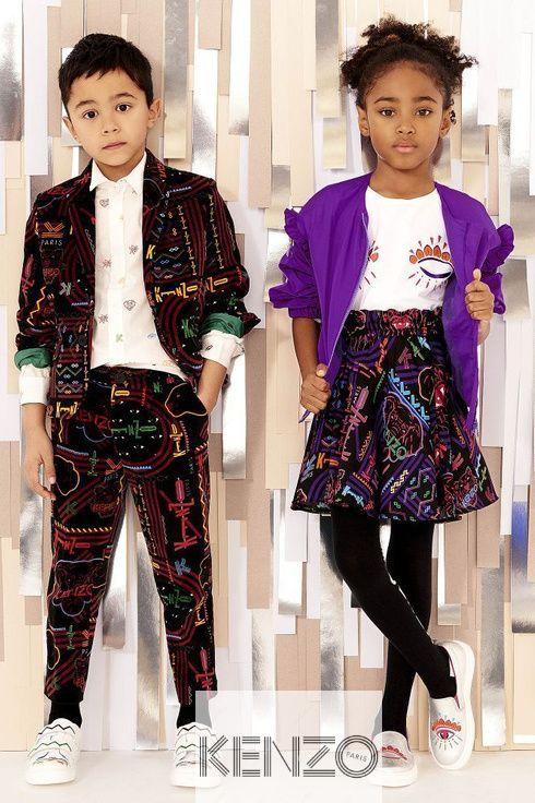 Cobalt 6A 6 Little Kids Kenzo Girls Tiger Romper Little Kids