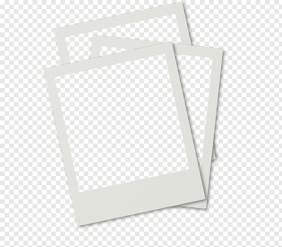 Polaroid Three White Papers Png Paper Illustration Polaroid Template Paper