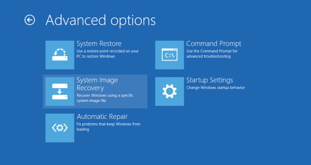 Using Windows 8 S Hidden Backup To Clone And Recover Your Whole