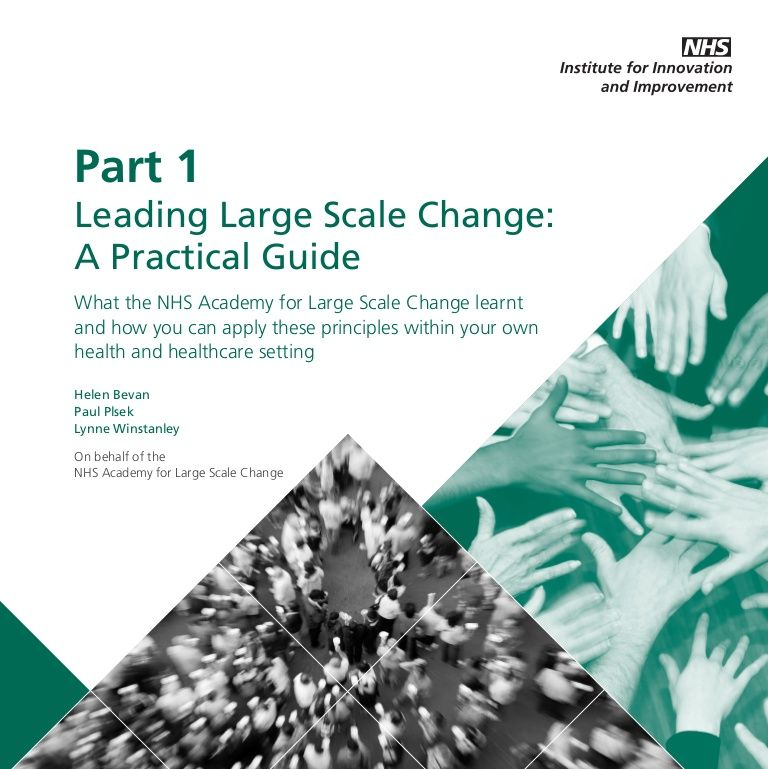 Leading Large Scale Change A Practical Guide Part 1 Shcrchat