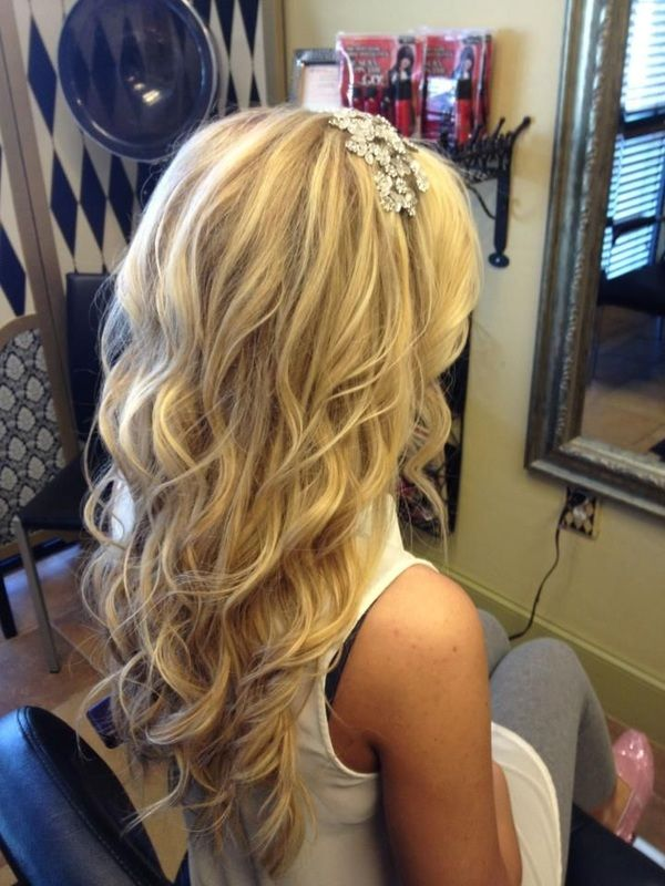 Wedding Hairstyle Down In Curls Hair Styles Wedding Hairstyles For Long Hair Curly Wedding Hair