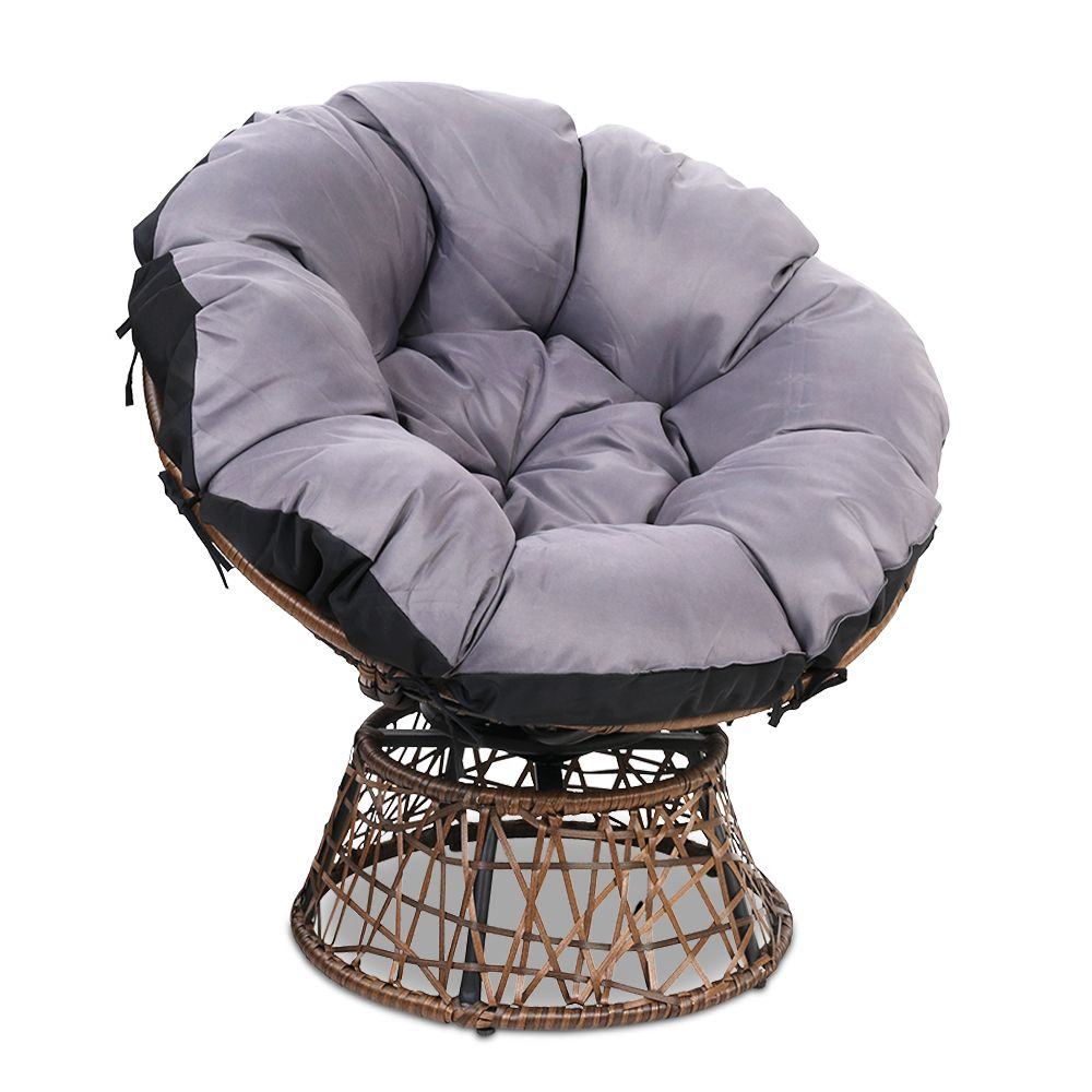 Botanica outdoor swivel chair online only with images