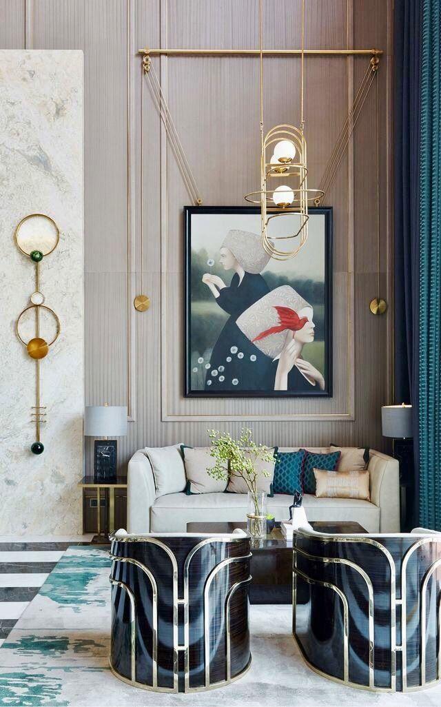 Art is sexy Diseño interior Pinterest Decoracion - diseo de interiores de departamentos