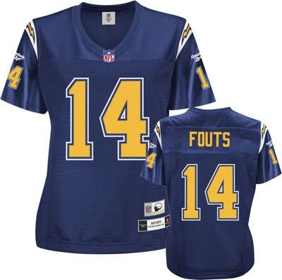 dan fouts san diego chargers navy nfl women s premier throwback rh pinterest com