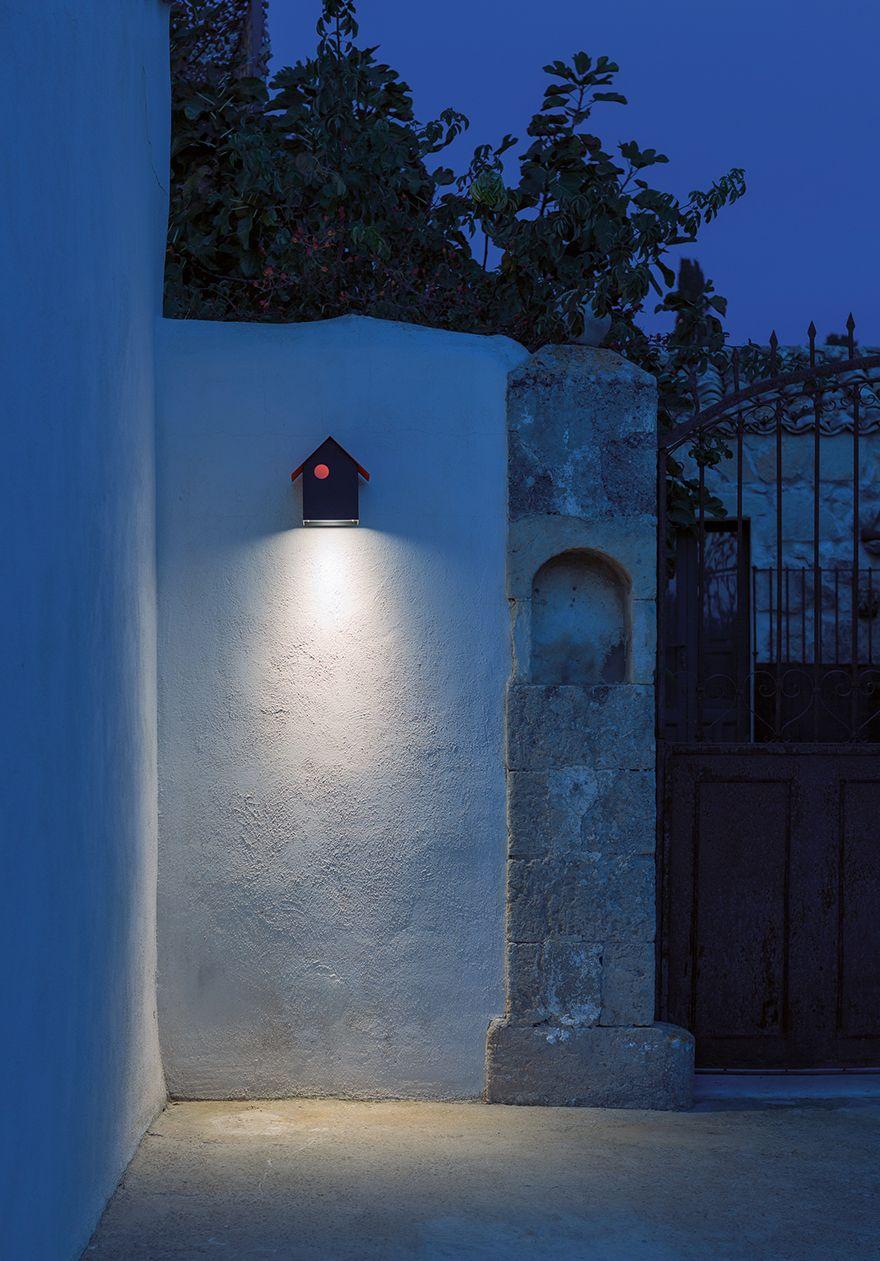 Imu design omar carraglia outdooor wall lamp modern outdoor