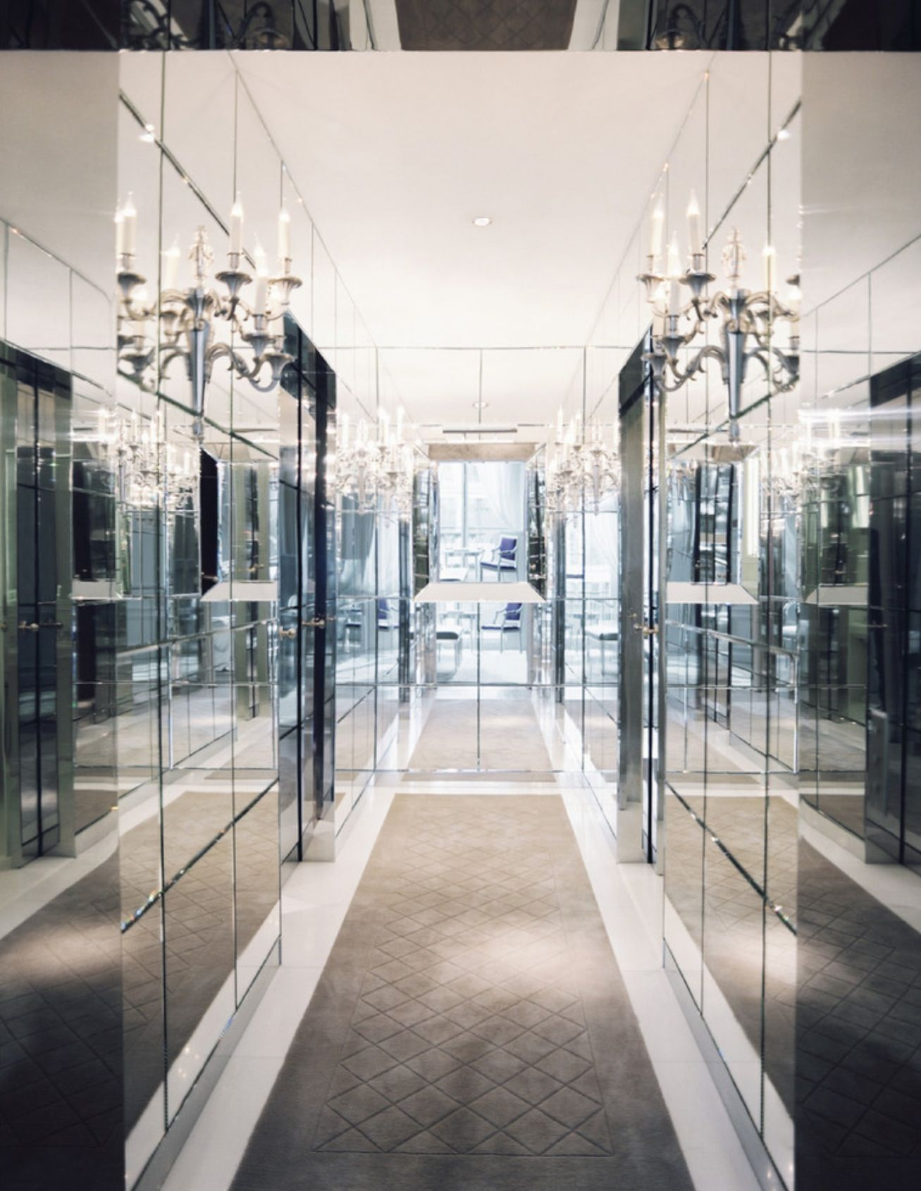 Mirrored corridor | Corridor
