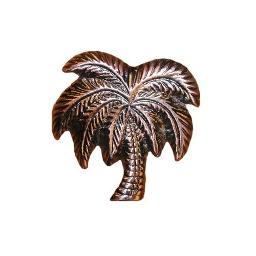Antique Copper Palm Tree Cabinet Buck Snort Lodge Products Fl Nature Cabin
