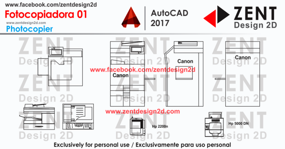 Fotocopiadora 01 Autocad 2017 Design Design Autocad