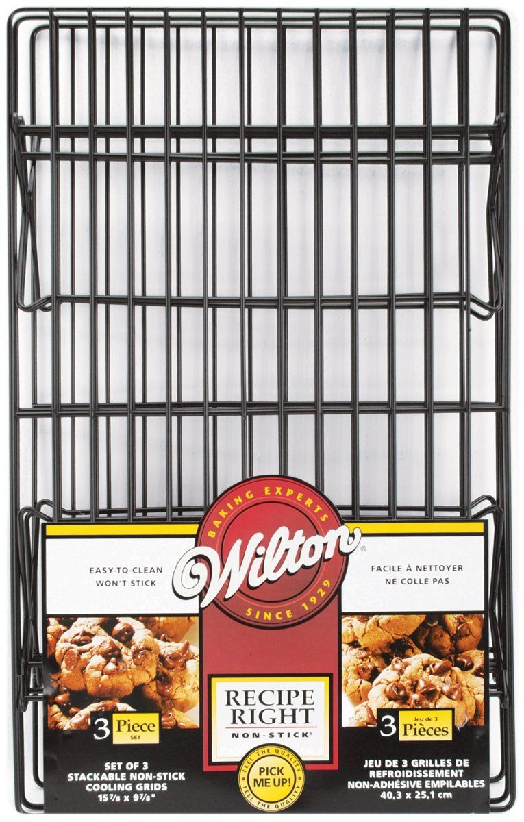 Wilton Recipe Right 3 Tier Cooling Rack Set Additional Details