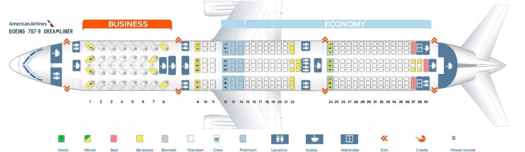 Awesome And Beautiful Boeing 787 Dreamliner Boeing 787 Dreamliner Seating Plan Seating Charts