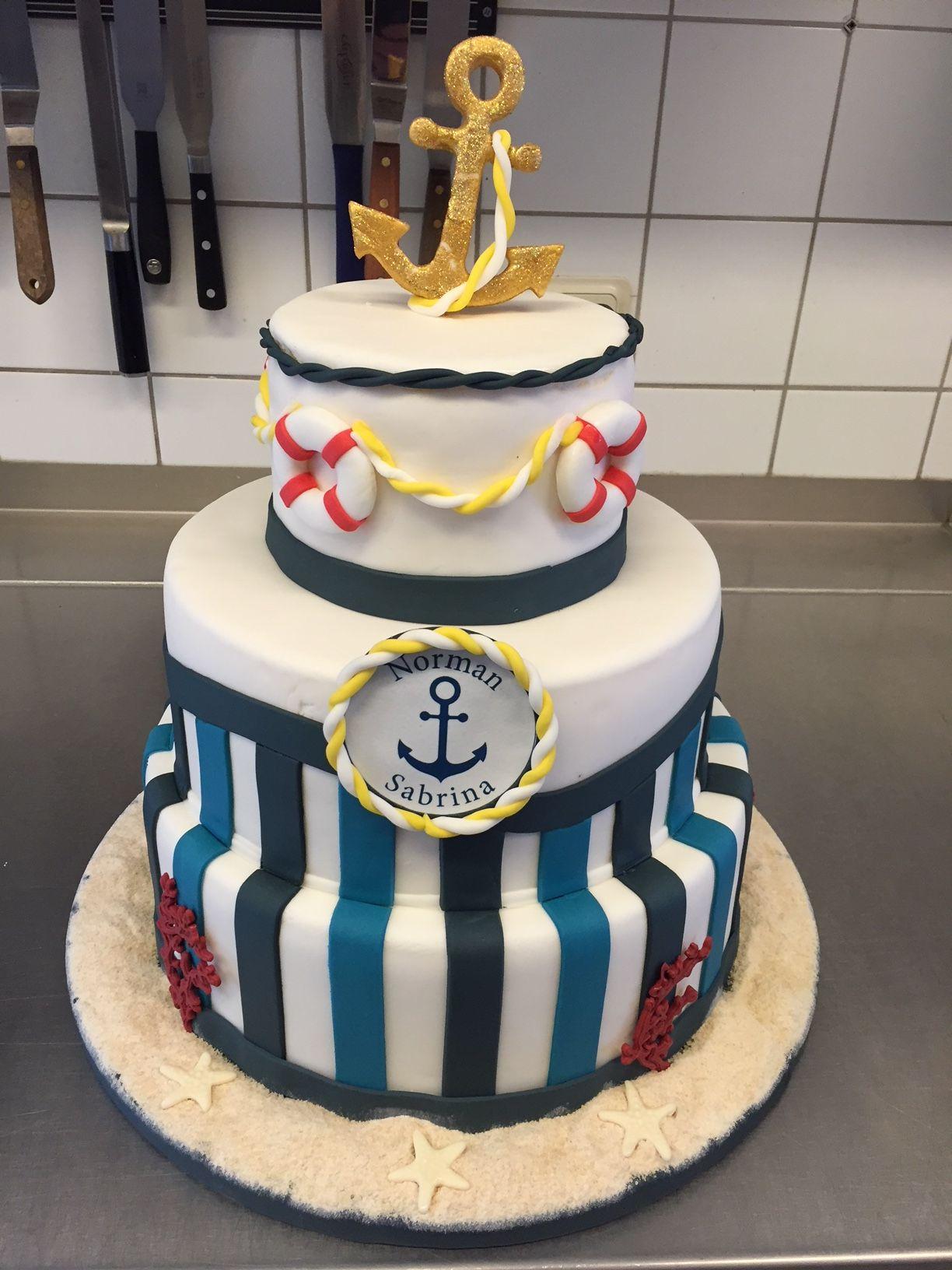 Hochzeitstorte Maritim Kuchen Hochzeitstorten