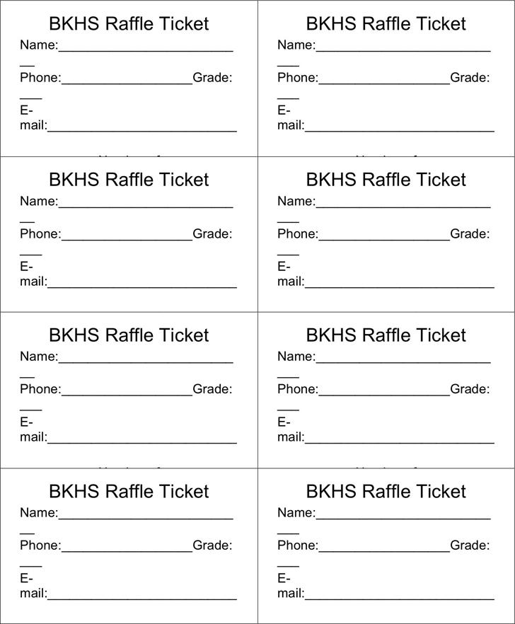17 Free Sample Raffle Ticket Templates In Different Formats Ticket Template Free Raffle Tickets Template Raffle Ticket Template Free