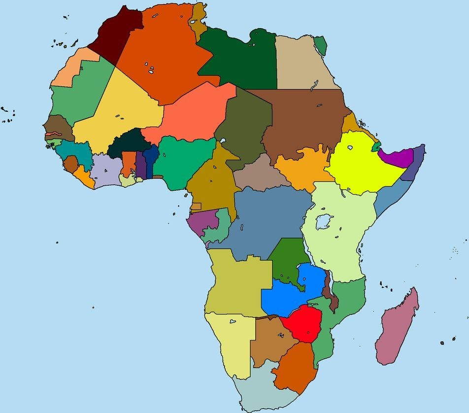 Image result for alternate africa map | Alternate Flags and Maps