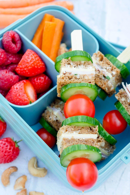 Lunchpaket für gesunde Kinder zum Frühstück im