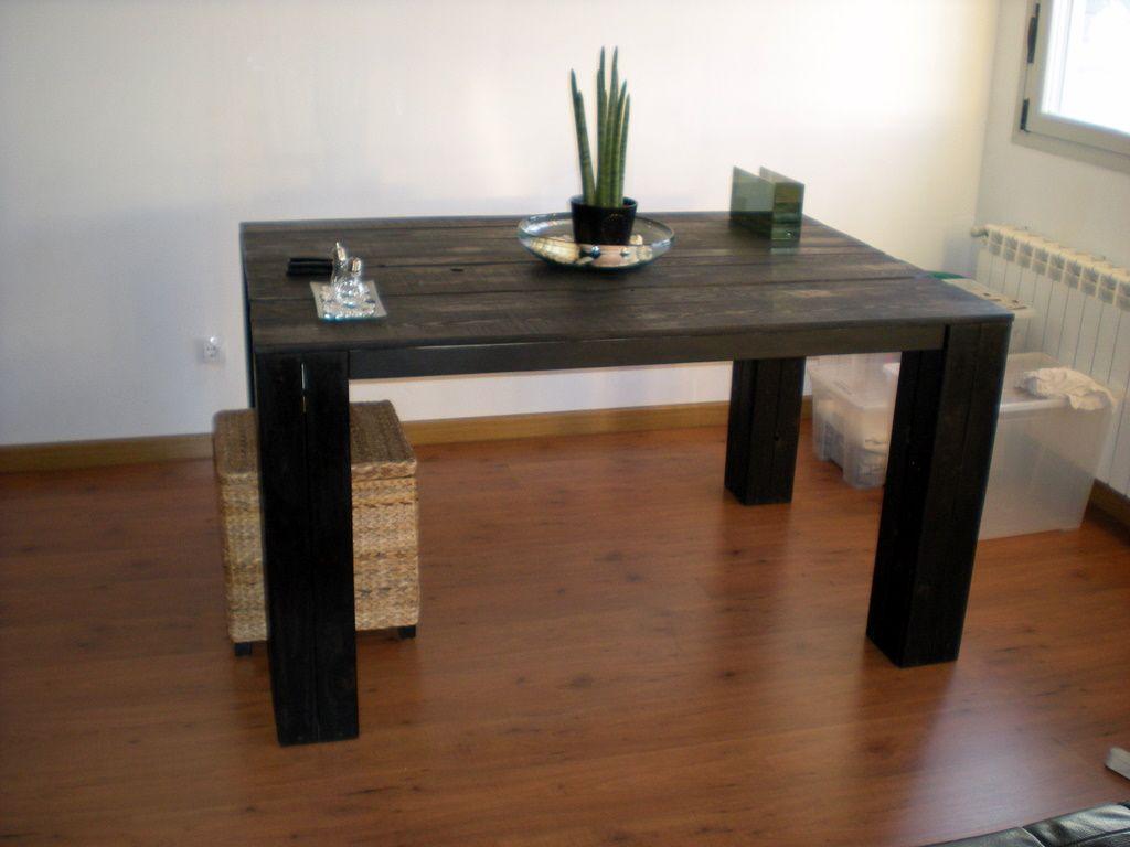 como hacer muebles con palets de madera usados