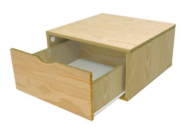 Cube de rangement avec tiroir Largeur 50 cm - Abc-meubles - meuble de rangement avec tiroir