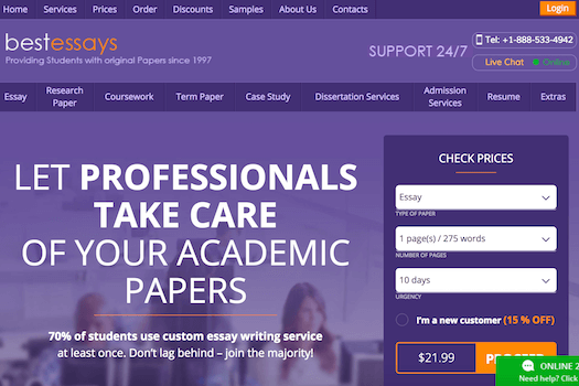 Paper writing services free