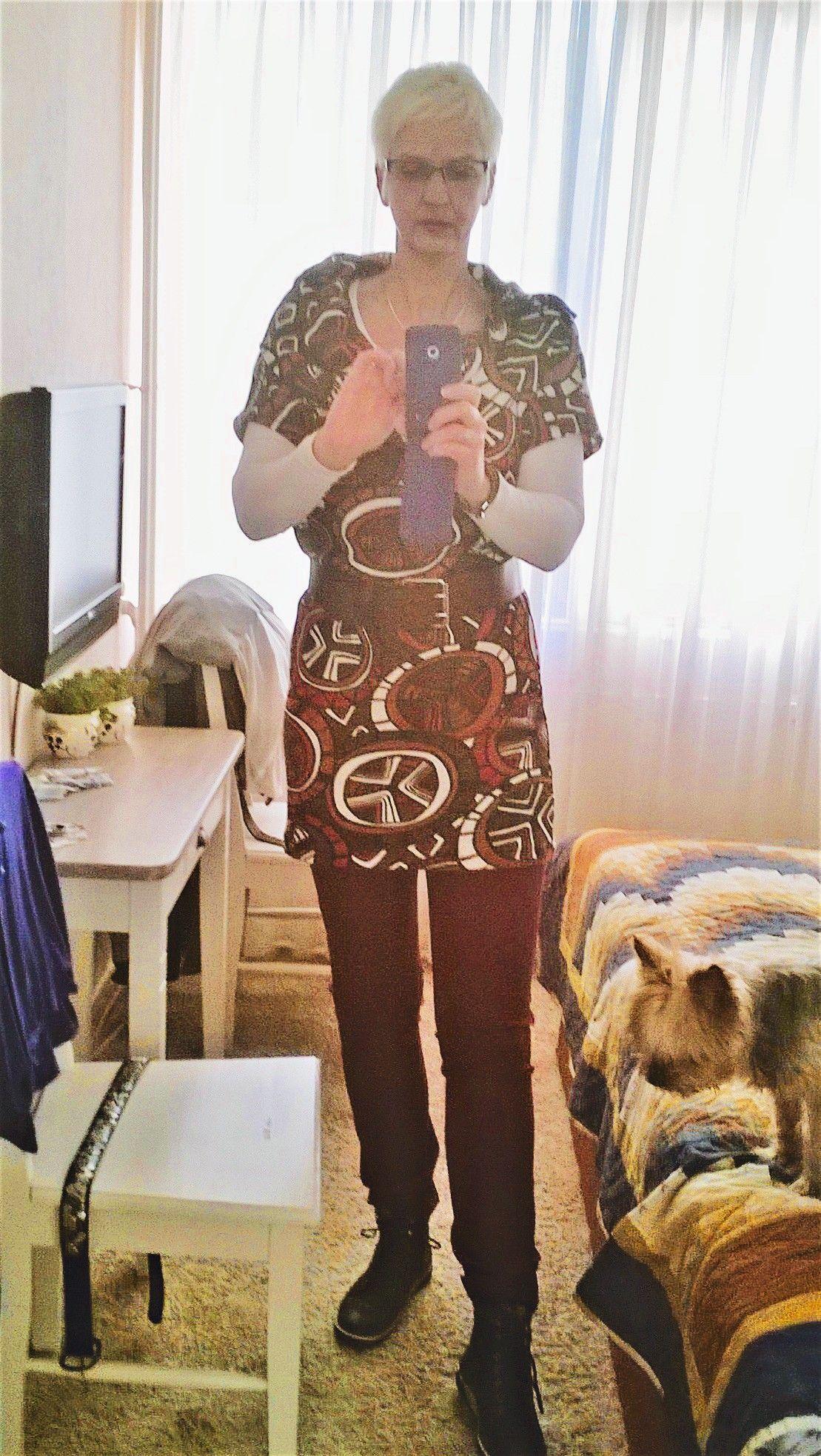 tuniek en heerlijk bi streche broek