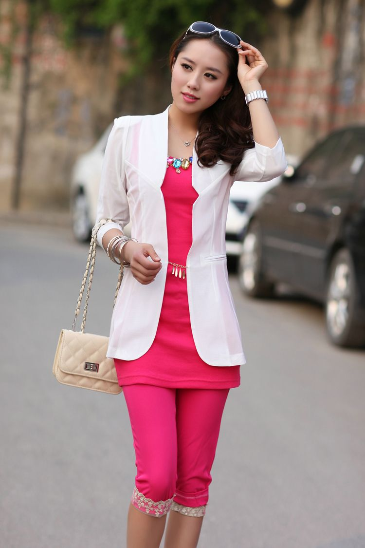 Womens 2013 Spring And Summer New Candy-Colored Gauze -9478