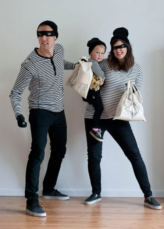 55 Family Halloween Costumes Ideas for the Whole Family Family - super easy halloween costume ideas