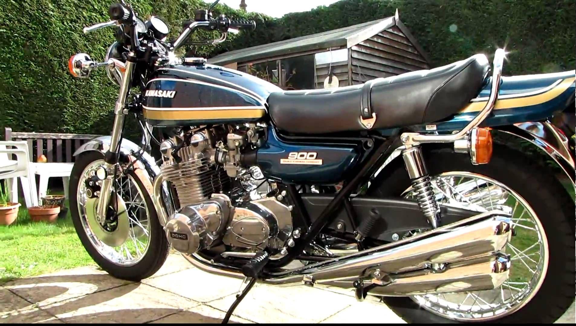 1975 Kawasaki Z1 900 - YouTube