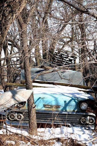 Dsc 0157 Abandoned Cars Barn Find Cars Abandoned Train